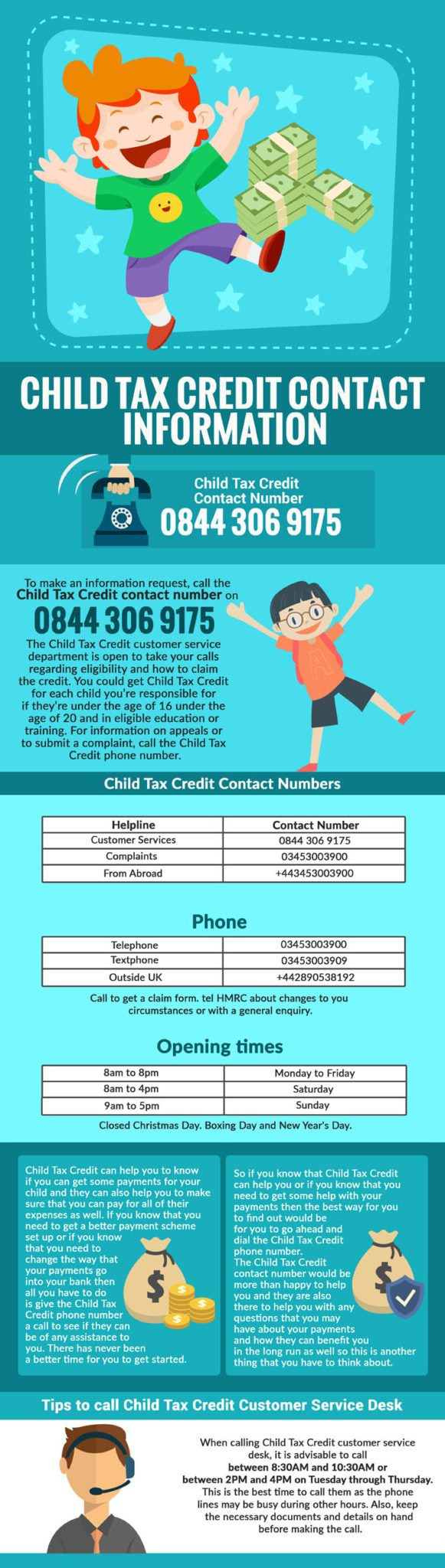 Child Tax Credit Customer Service