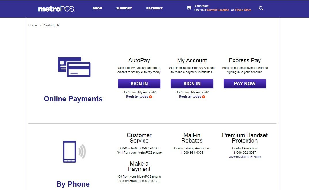 call metro pcs customer service