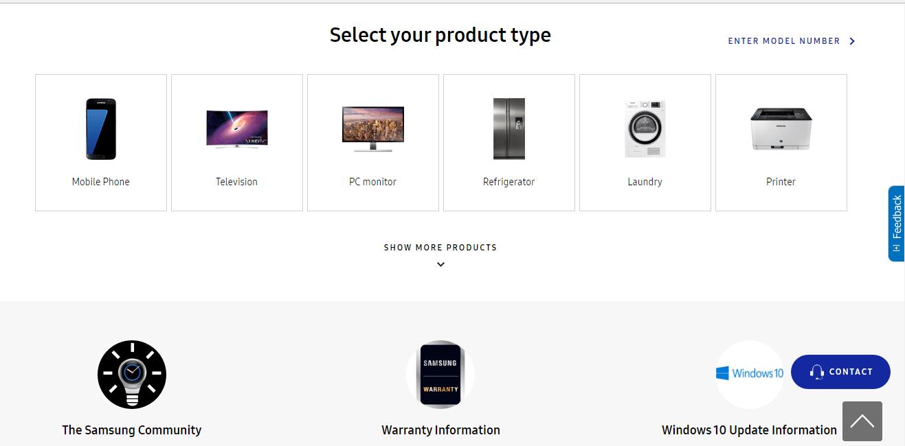 Samsung Customer Service Phone Numbers