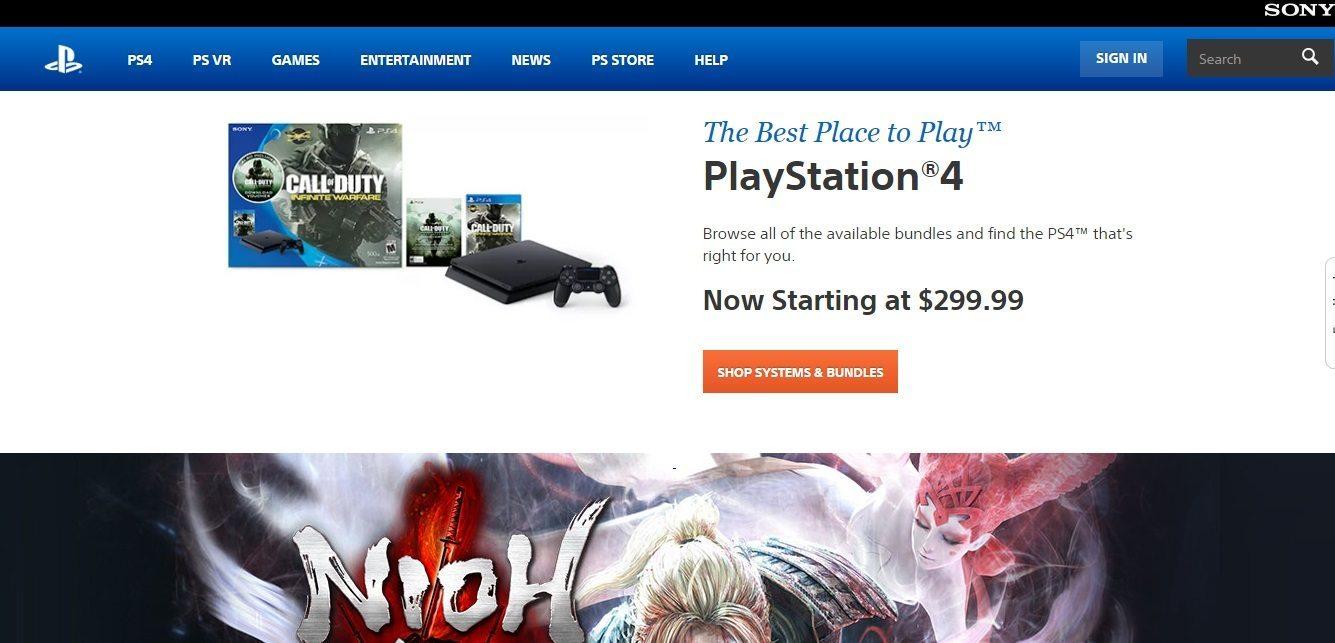 Sony PS4 Customer Service