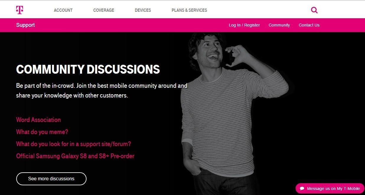 T-Mobile Customer Service number