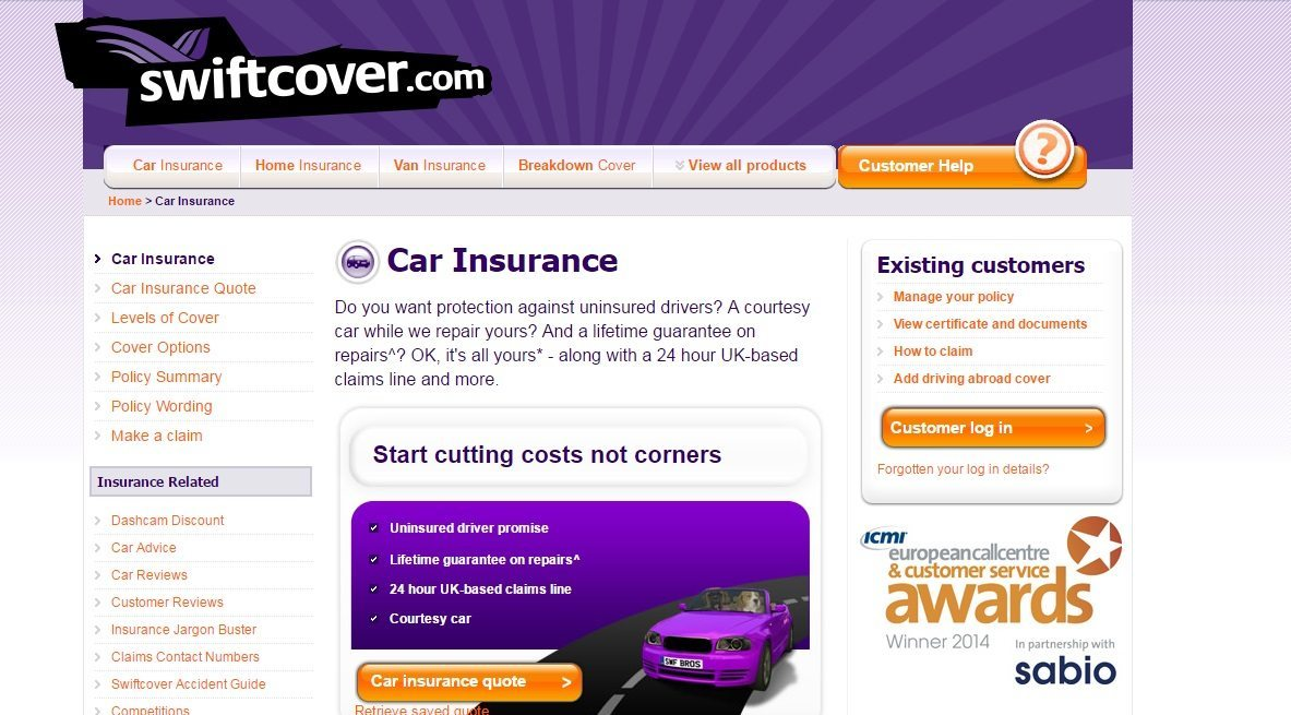 Swift Cover Customer Service Numbers