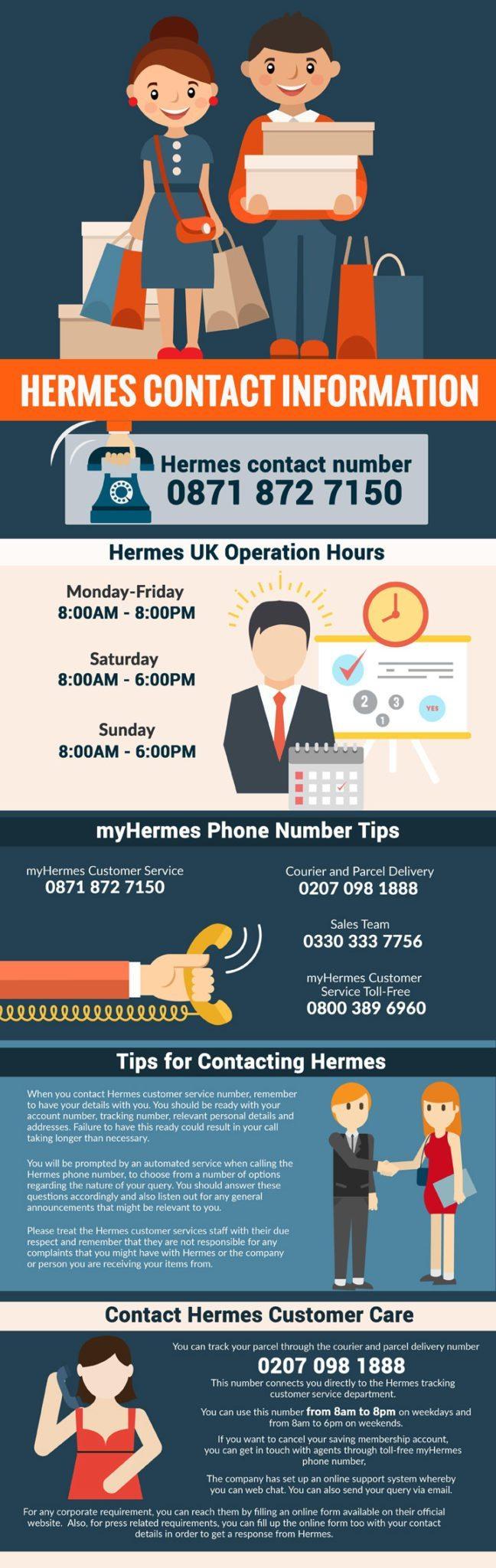Hermes UK numbers