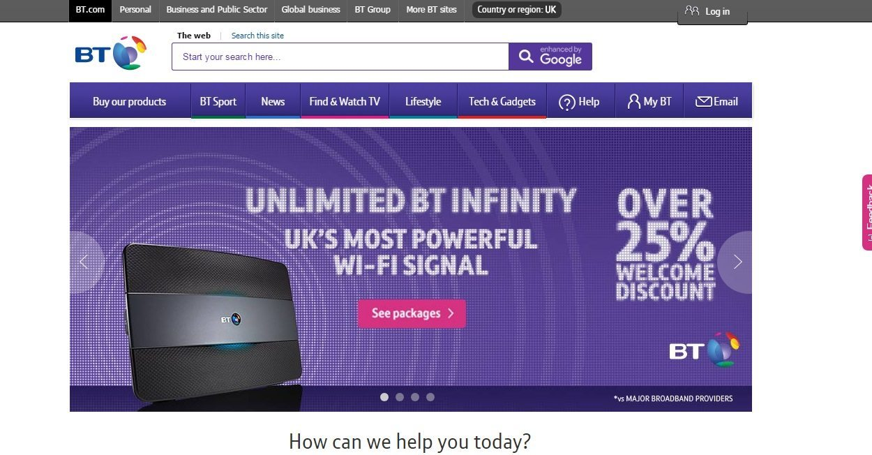 BT Broadband Customer Service