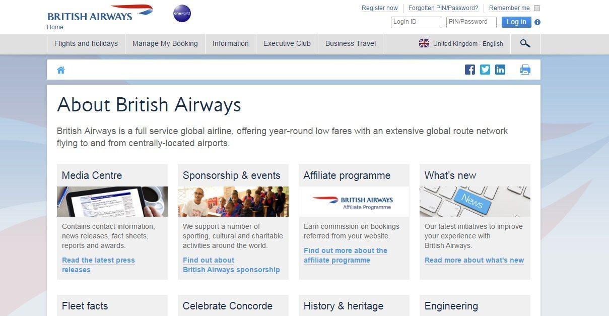 About British Airways