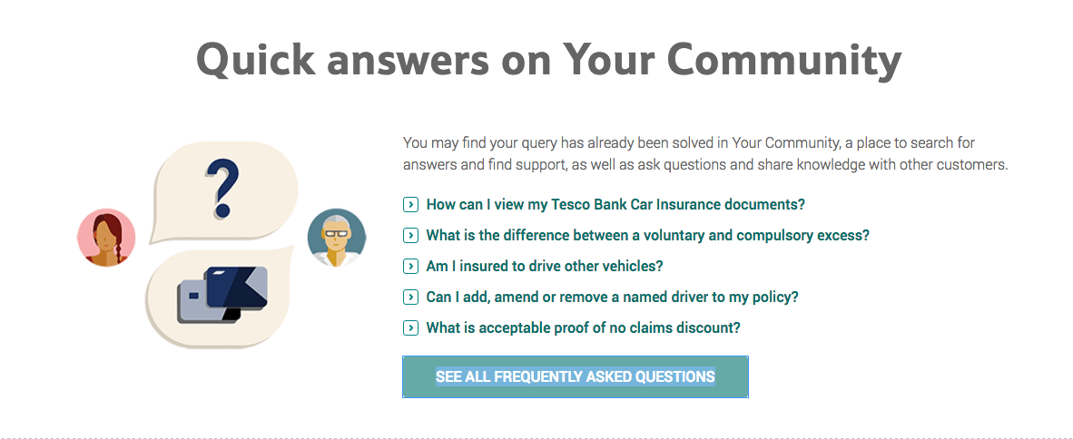 Tesco Car Insurance Frequently Asked Questions