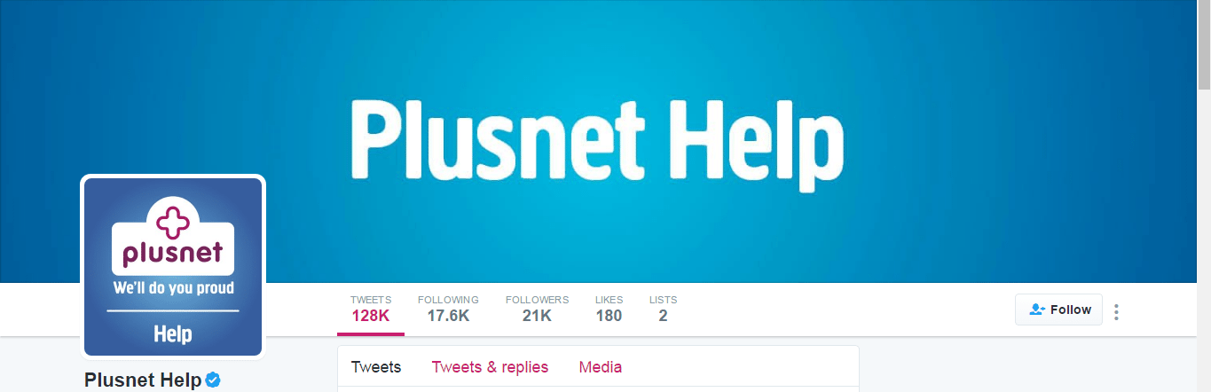 Plusnet contact number UK