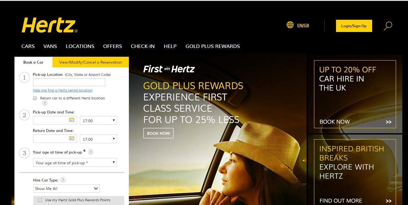 hertz corporation Hertz, hertz global holdings, corporate profile, executive officers, senior management.